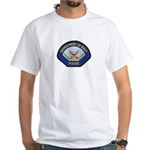 U S Navy Police White T-Shirt
