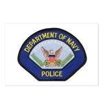 U S Navy Police Postcards (Package of 8)