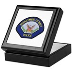 U S Navy Police Keepsake Box