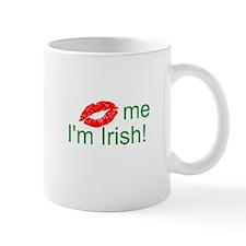 (Kiss) me I'm Irish! Small Mug