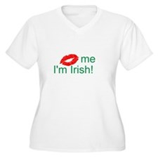 (Kiss) me I'm Irish! T-Shirt