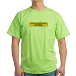 We Must Never Again Green T-Shirt