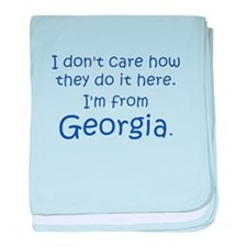 From Georgia baby blanket