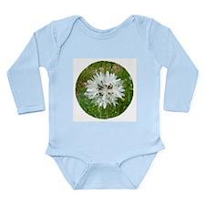 Blow-Wives Flower Long Sleeve Infant Bodysuit