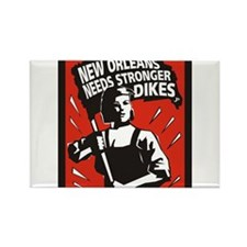 New Orleans Katrina Stuff Rectangle Magnet