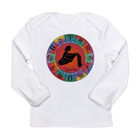 Aquarius Water Bearer Long Sleeve Infant T-Shirt