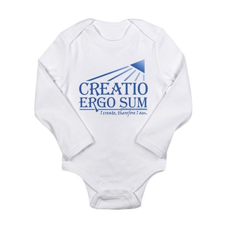 Creatio Ergo Sum Long Sleeve Infant Bodysuit
