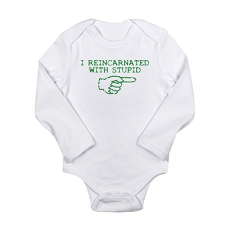 Reincarnated With Stupid Long Sleeve Infant Bodysu