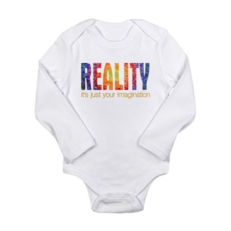 Reality Imagination Long Sleeve Infant Bodysuit