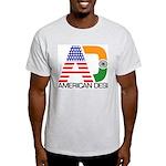 American Desi Ash Grey T-Shirt