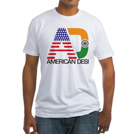 American Desi Fitted T-Shirt