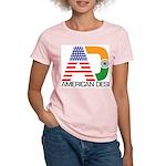 American Desi Women's Pink T-Shirt