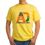 American Desi Yellow T-Shirt