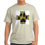 Pet Safety Cross Ash Grey T-Shirt