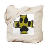 Pet Safety Cross Tote Bag