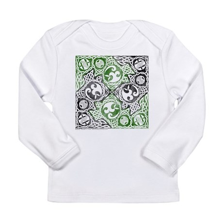 Celtic Puzzle Square Long Sleeve Infant T-Shirt