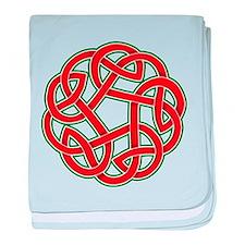 Celtic Christmas Knot Infant Blanket