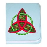 Celtic Holiday Knot Infant Blanket