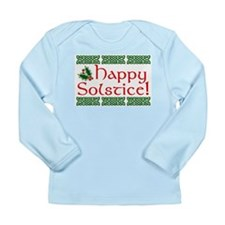 Happy Solstice Long Sleeve Infant T-Shirt