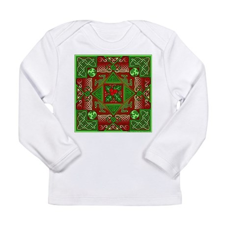 Celtic Labyrinth Holly Long Sleeve Infant T-Shirt