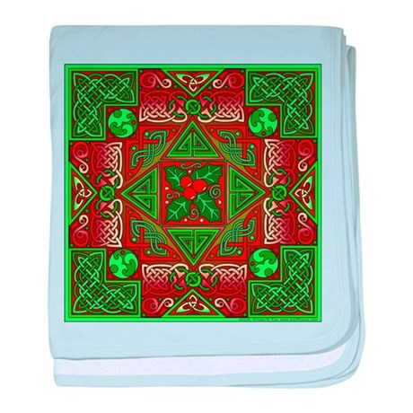 Celtic Labyrinth Holly Infant Blanket