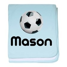 Soccer Mason Infant Blanket
