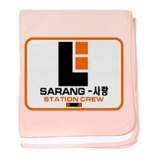 Sarang Station Crew Infant Blanket