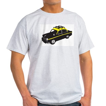 Taxi Ash Grey T-Shirt