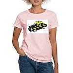 Taxi Women's Pink T-Shirt
