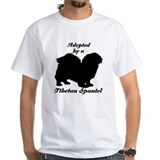ADOPTED by Tibetan Spaniel Shirt