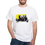 Rickshaw White T-Shirt