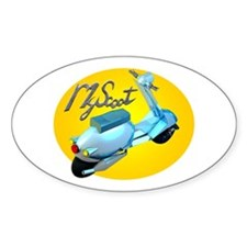 MyScoot Oval Decal