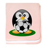 Soccer penguin Infant Blanket