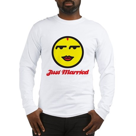 Just Married Female Long Sleeve T-Shirt