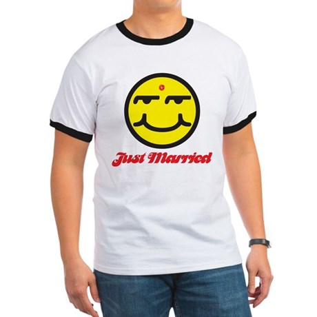 Just Married Male Ringer T
