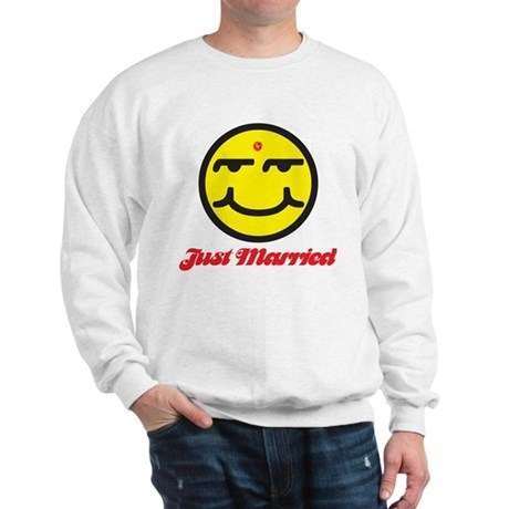 Just Married Male Sweatshirt