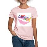 Jumma Chumma Women's Pink T-Shirt