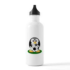 Soccer penguin Water Bottle