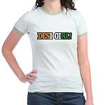 Desi Girl India Jr. Ringer T-Shirt