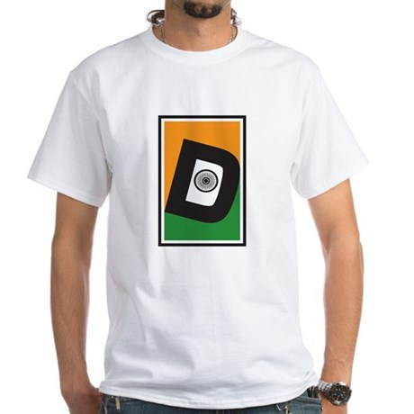 Desi D White T-Shirt