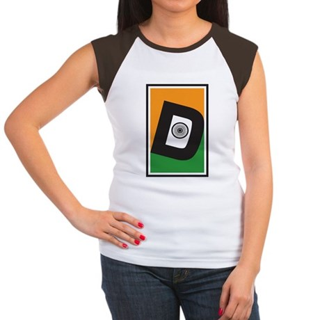 Desi D Women's Cap Sleeve T-Shirt