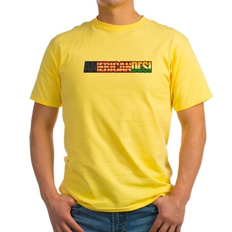 American Desi Yellow T-Shirt