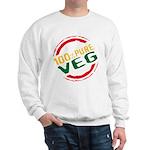 100% Pure Veg Sweatshirt