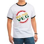 100% Pure Veg Ringer T