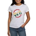 100% Pure Veg Women's T-Shirt