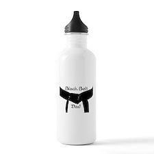 Black Belt Dad Water Bottle