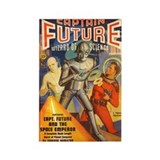 $4.99 Pulp Captain Future Rectangle Magnet