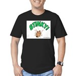 Stink Bug Men's Fitted T-Shirt (dark)