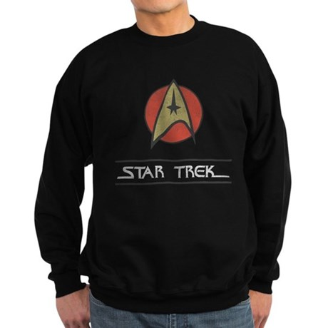 Vintage Star Trek Dark Sweatshirt