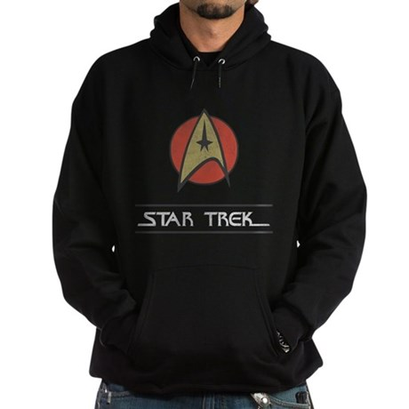 Vintage Star Trek Dark Hoodie